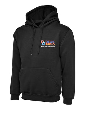 DELUX Radio Men's/Unisex Classic Hooded Sweatshirt