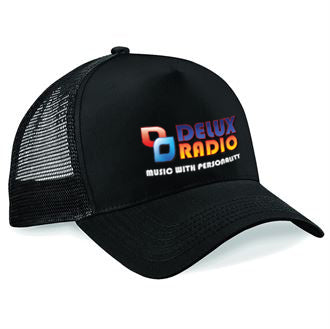 Delux Radio Baseball Hat (Trucker)