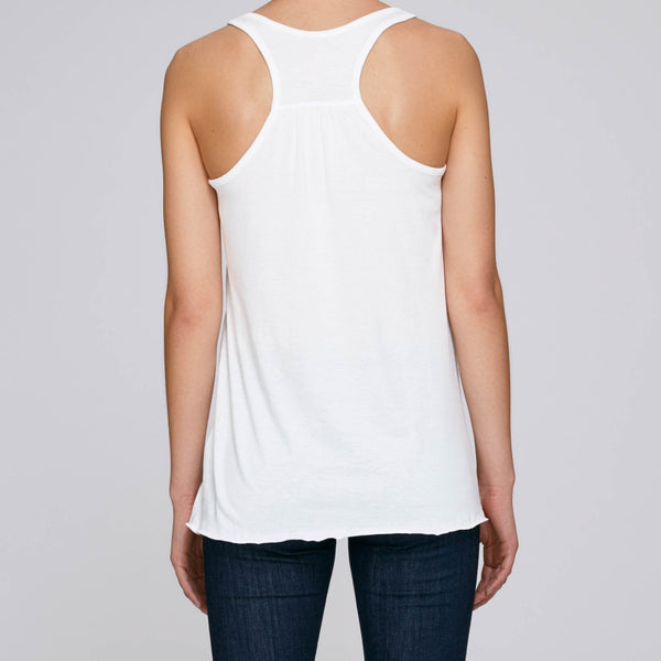 White long flowy tank top