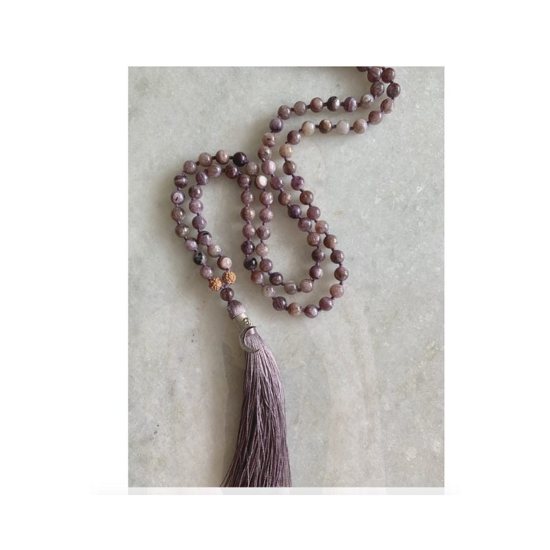 AGE OF AQUARIUS - Charoite Mala
