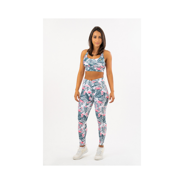 Bird of Paradise V Waist Leggings