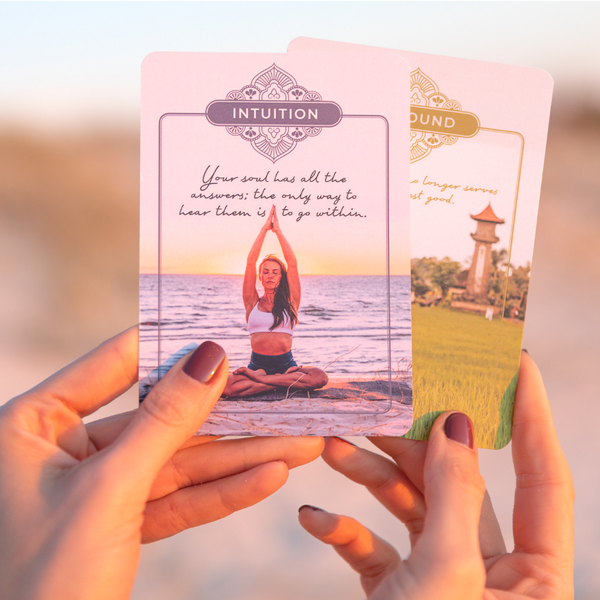 Yoga Mantra Meditation Cards