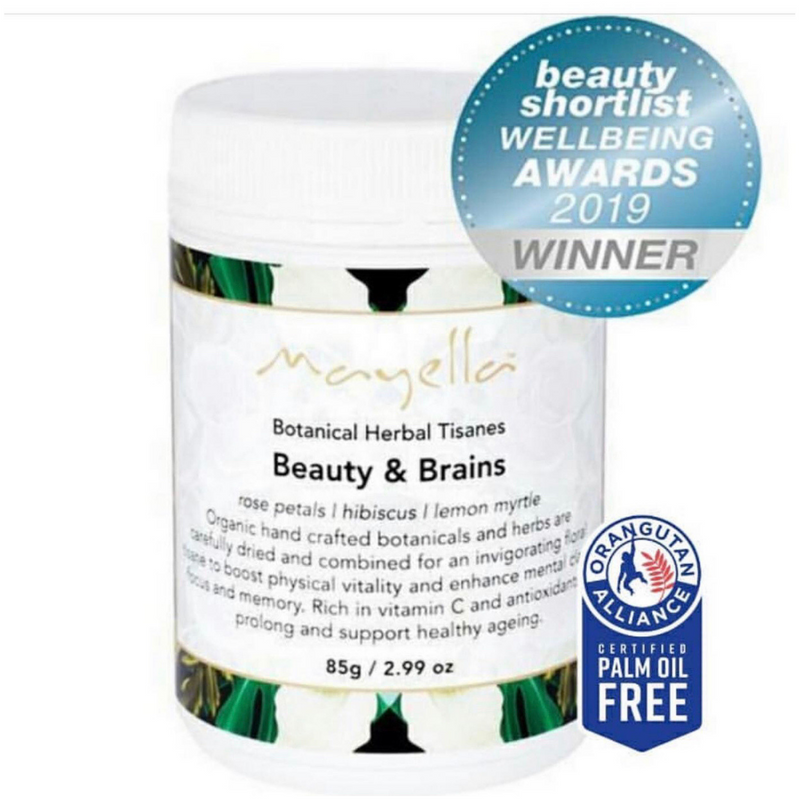 Beauty & Brains - Botanical Herbal Tisane