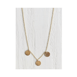 Moondrops Gold Necklace