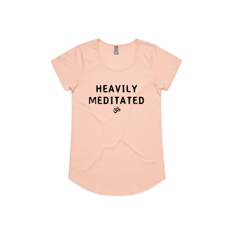Pale Pink Heavily Meditated Tee