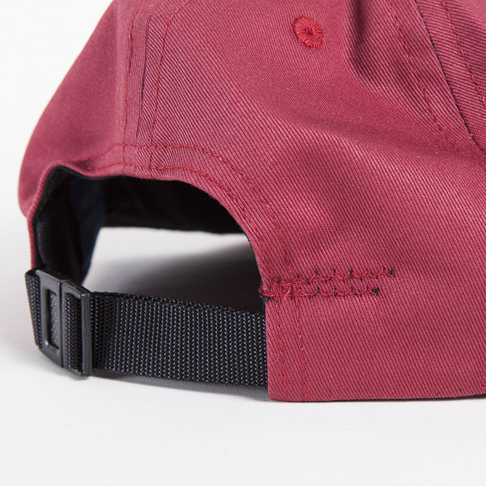 Solid Summer Twill Cap Red Barn