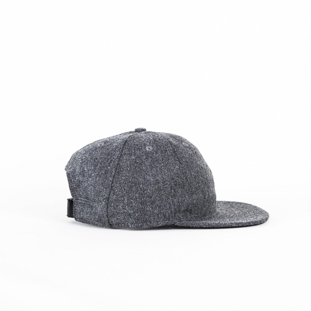 Charcoal Flannel Ball Cap