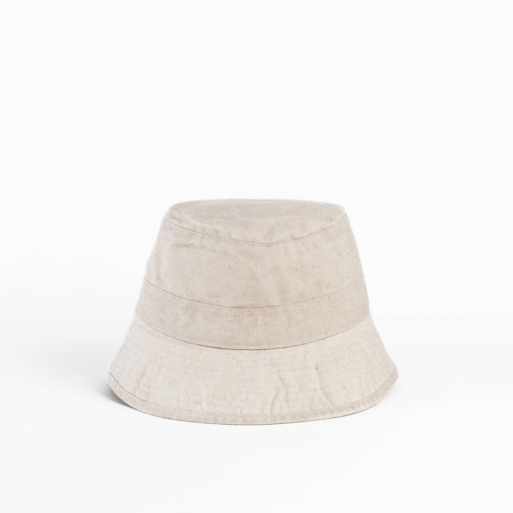 Oatmeal Waxed Cotton Bucket Cap