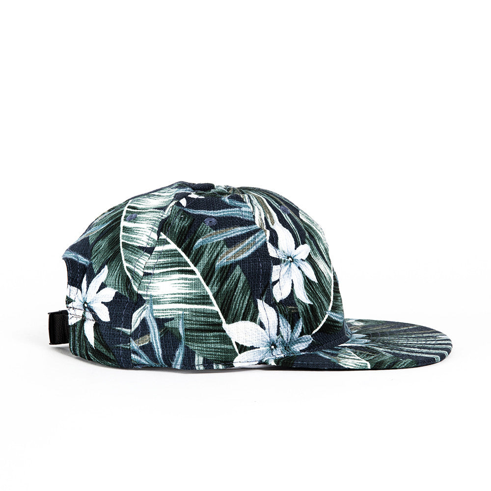 Navy and White Aloha Ball Cap