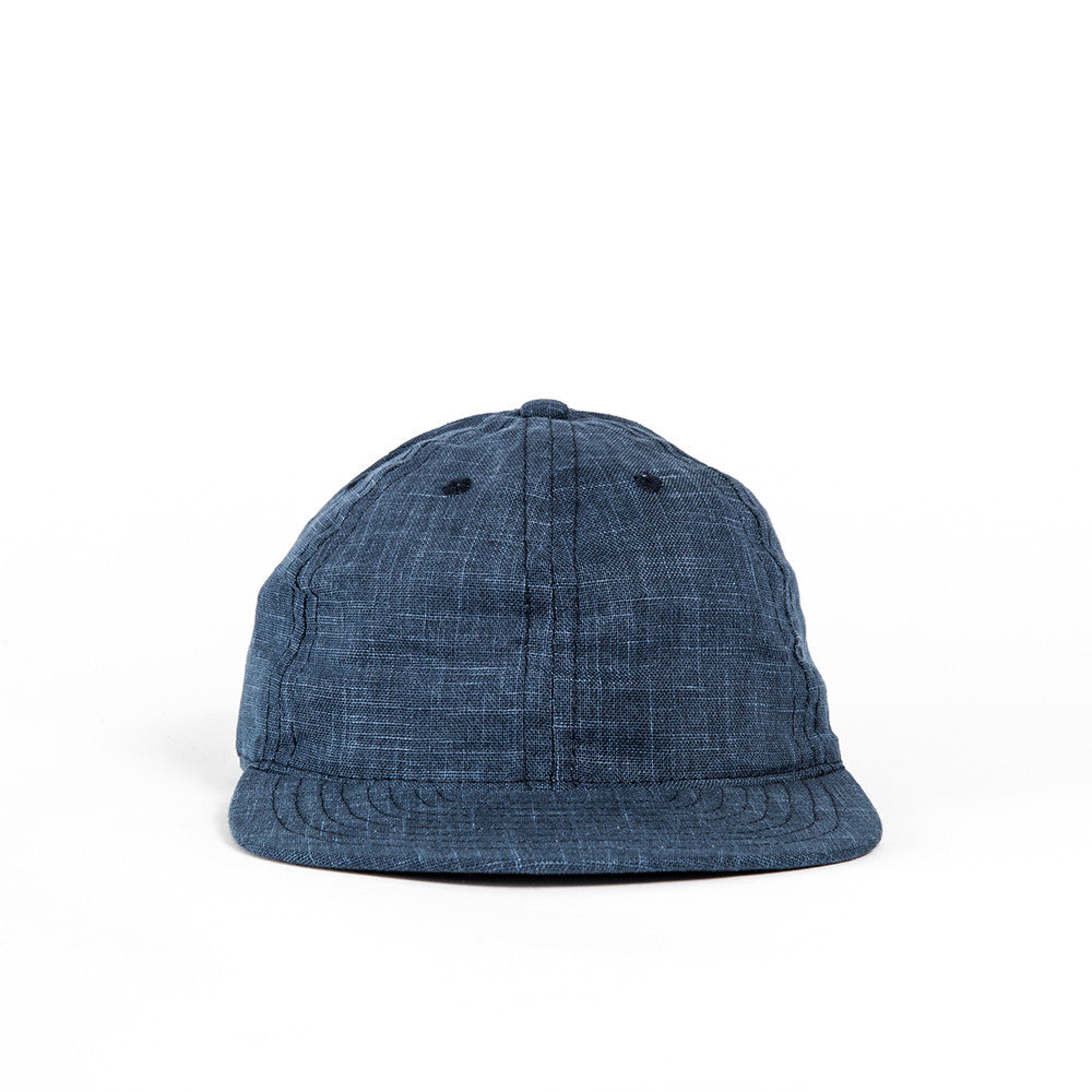 Blue Indigo Linen Cap *OLD SKU*