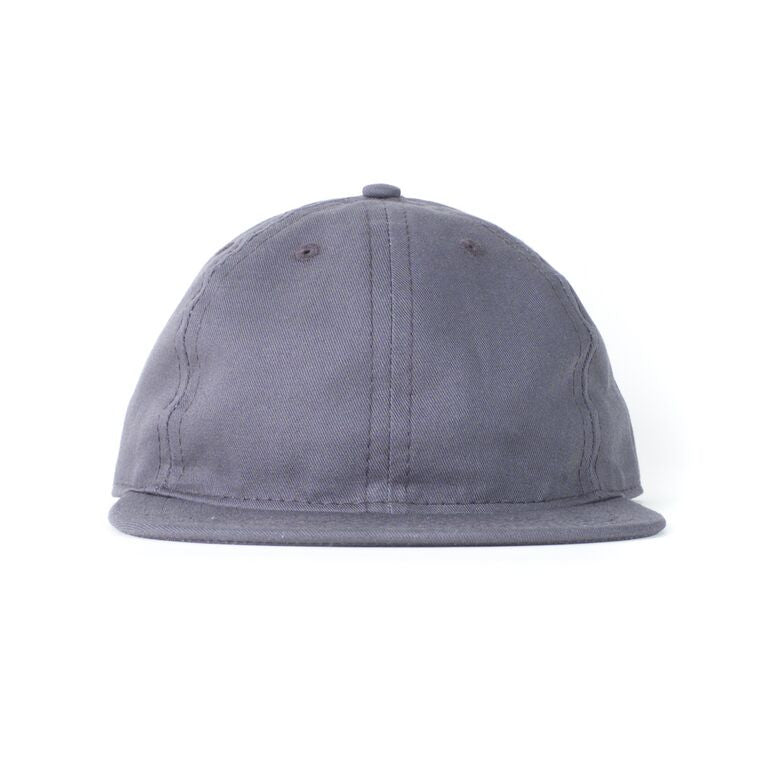 Charcoal Cotton Twill Ball Cap