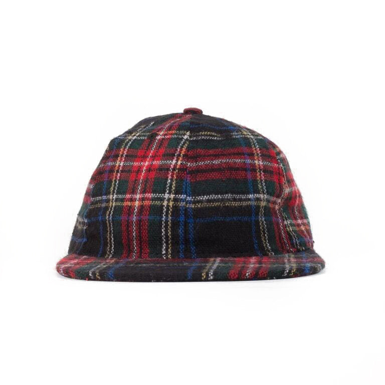 Black Stewart Plaid Ball Cap