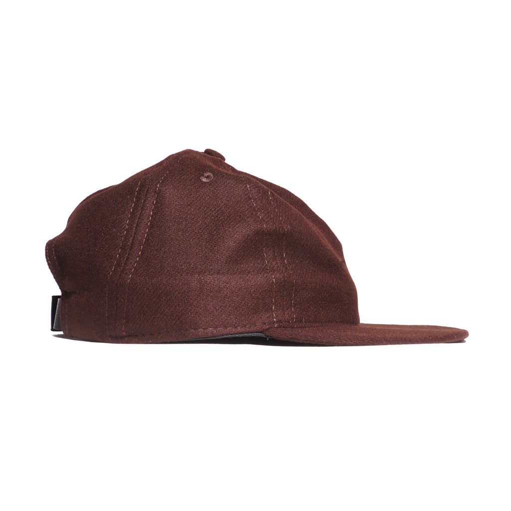 Chocolate Flannel Ball Cap