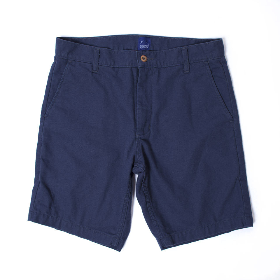 Navy Camp Shorts