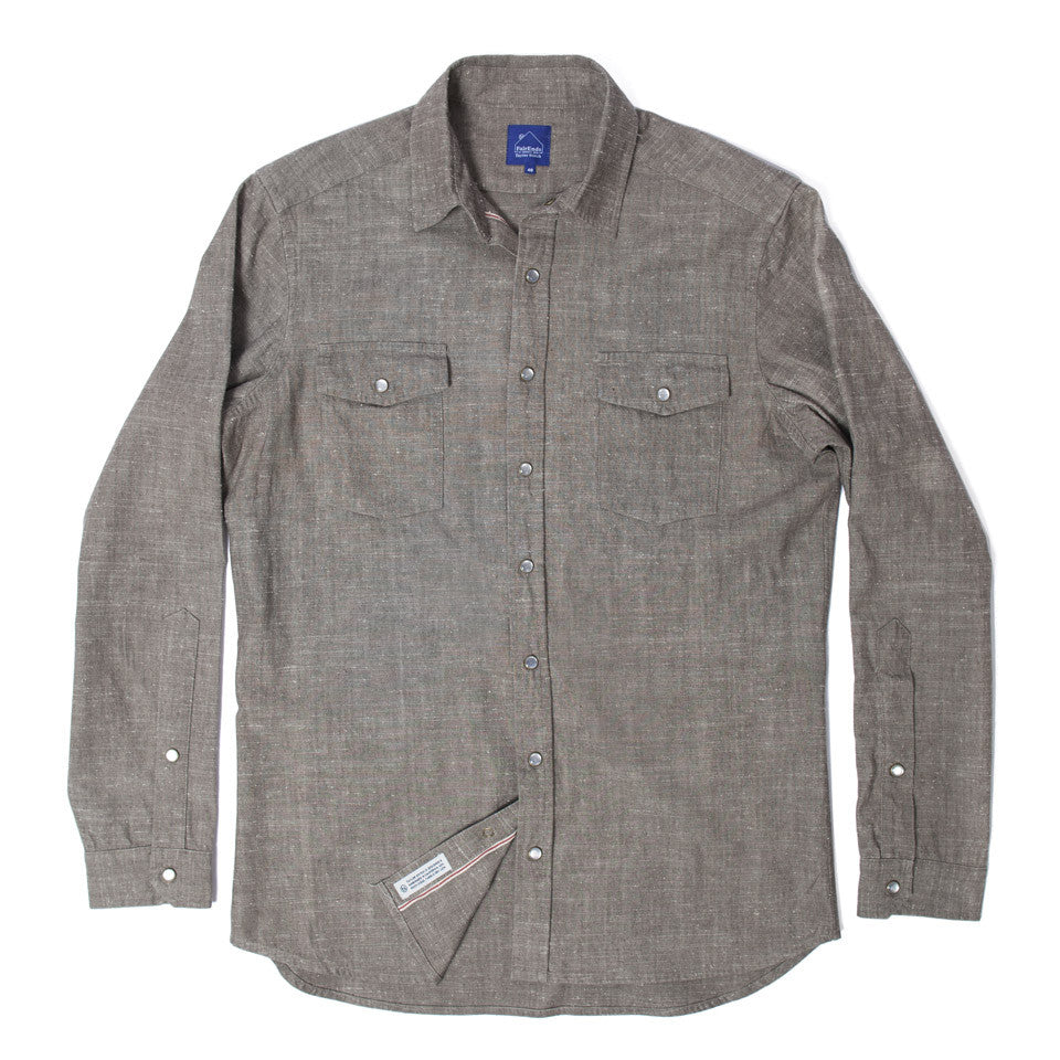 Tan Chambray Glacier Shirt