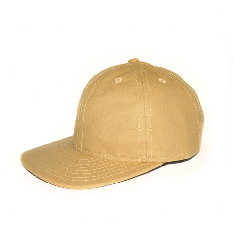 Tan Waxed Duck Ball Cap
