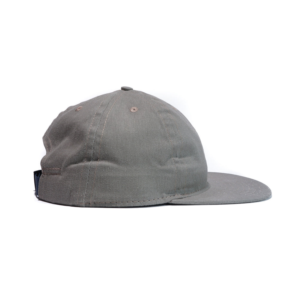 Beach Olive Brushed Cotton Ball Cap