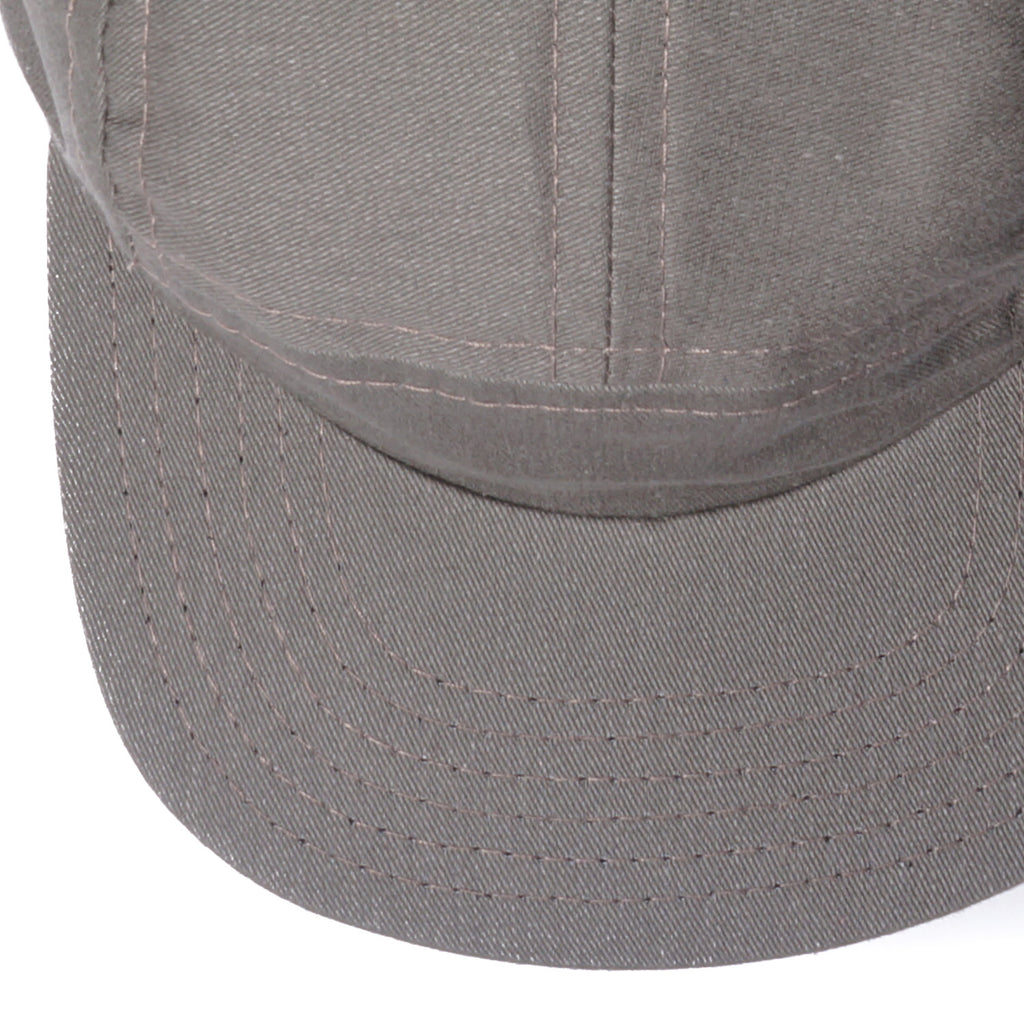 Beach Olive Brushed Cotton Camp Cap