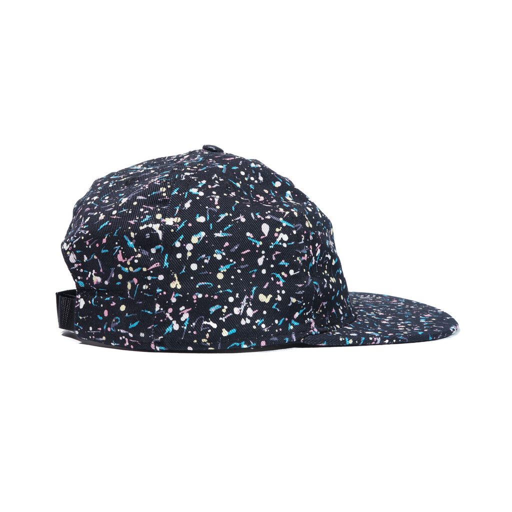 Black Liberty Splatter Ball Cap