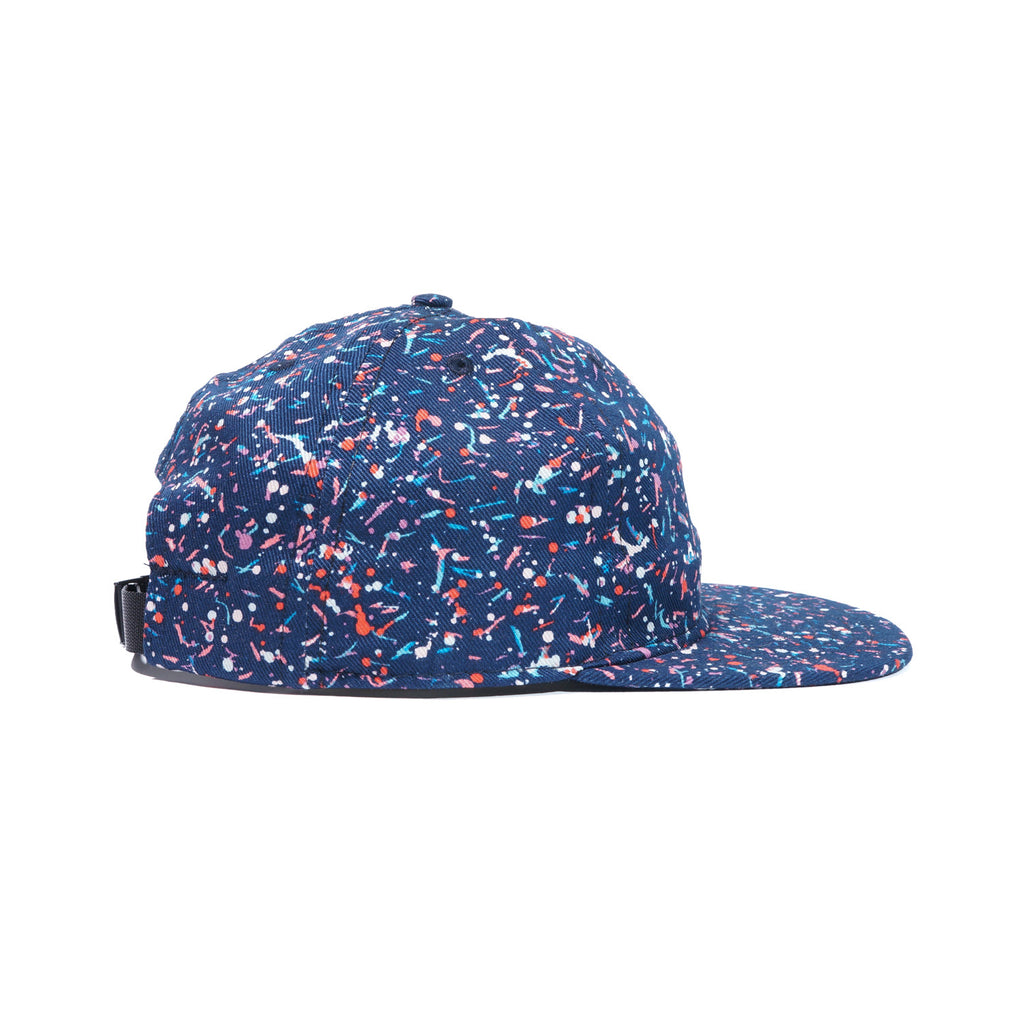 Navy Liberty Splatter Ball Cap