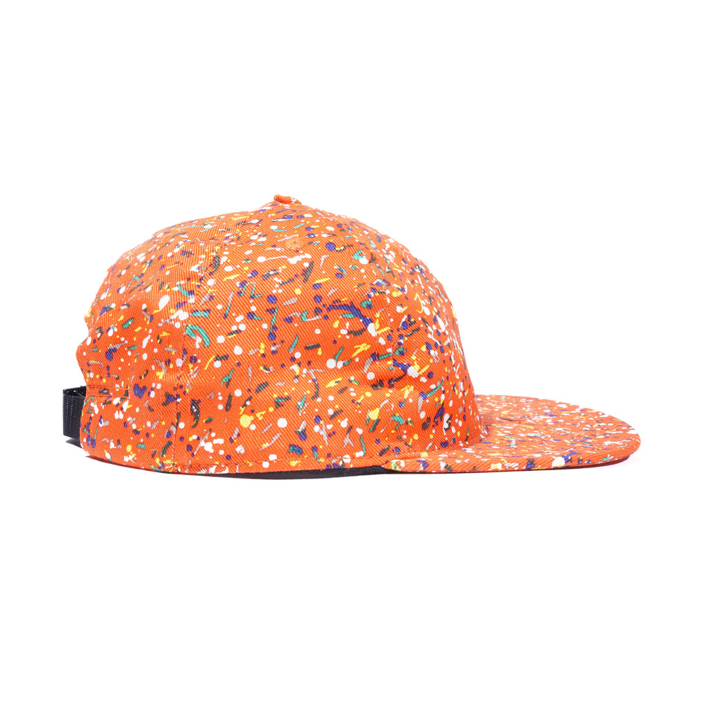 Orange Liberty Splatter Ball Cap