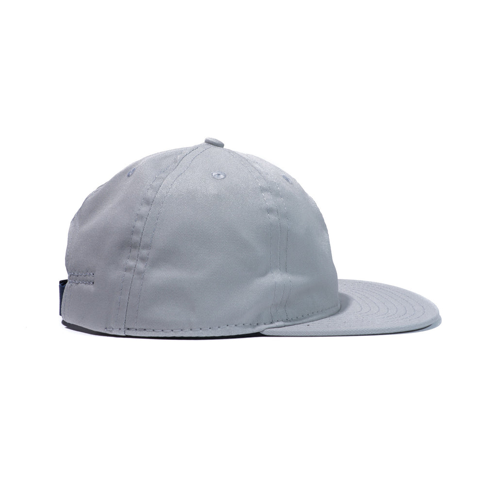 Light Grey Organic Cotton Twill Ball Cap