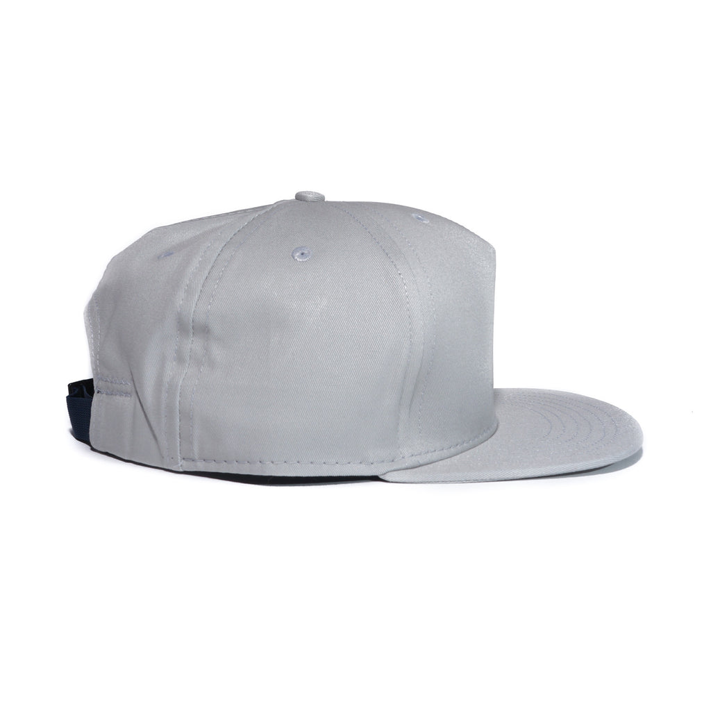 Light Grey Organic Cotton Twill Farm Cap