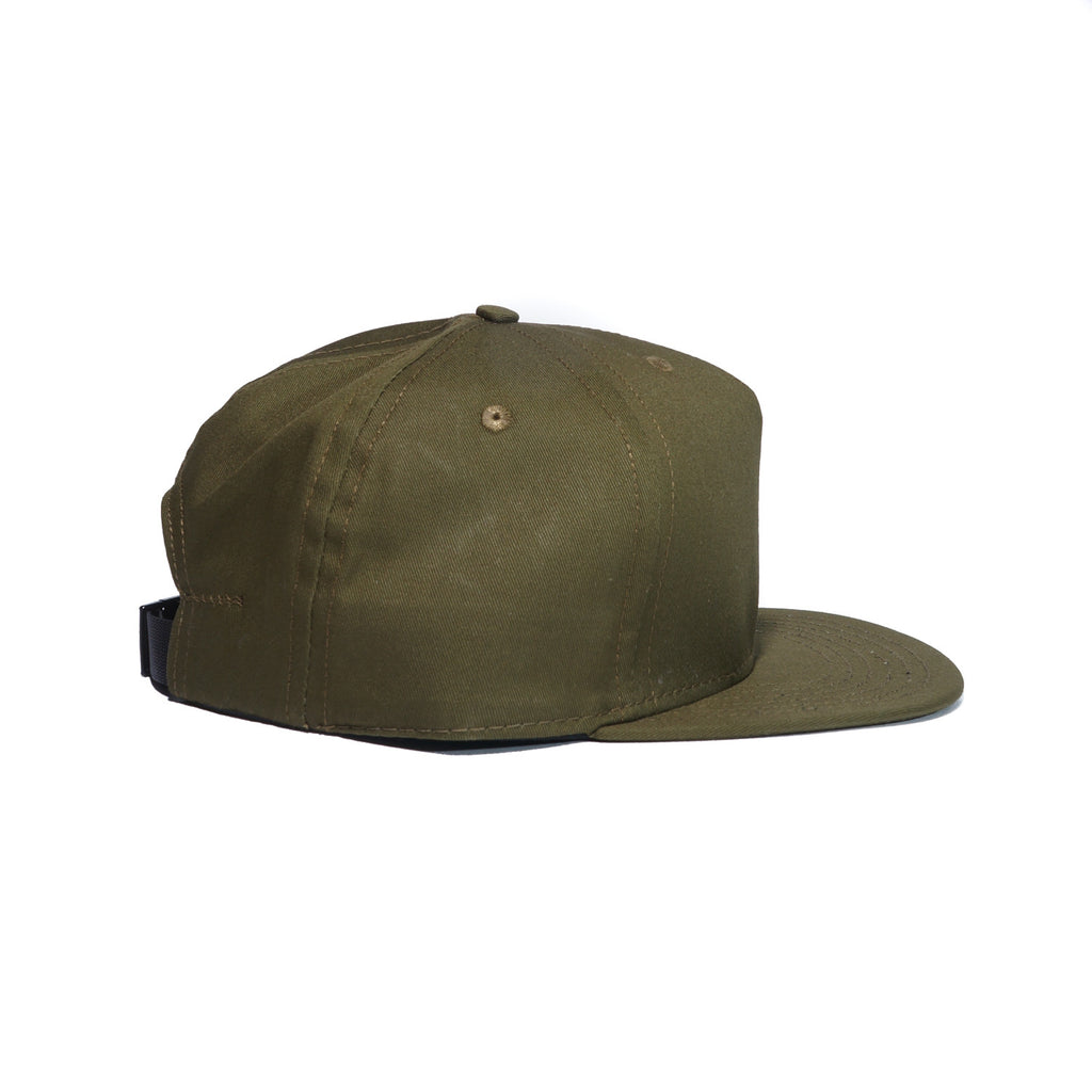 Olive Organic Cotton Twill Farm Cap