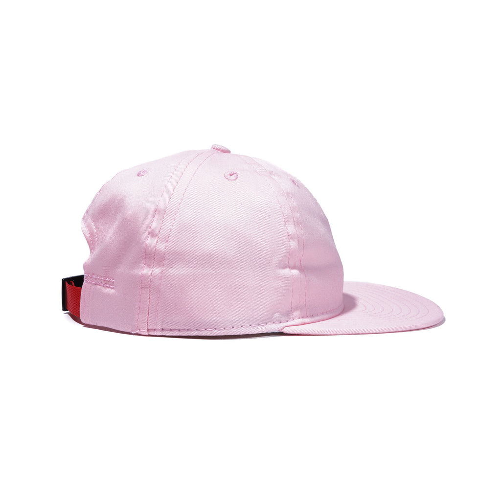 Pink Organic Cotton Twill Ball Cap