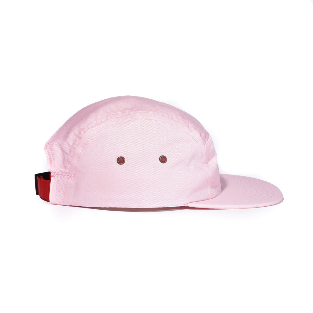 Pink Organic Cotton Twill Camp Cap