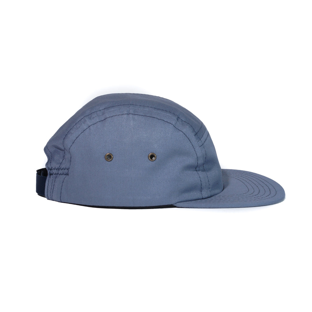 Slate Organic Cotton Twill Camp Cap