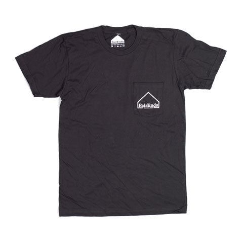 Black Pocket Logo Shirt