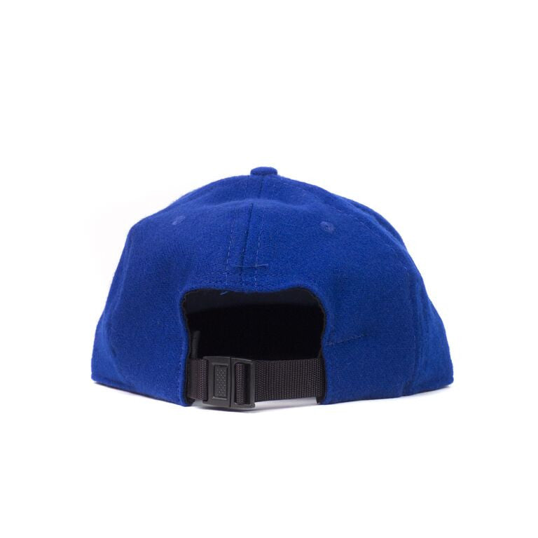Royal Blue Flannel Farm Cap