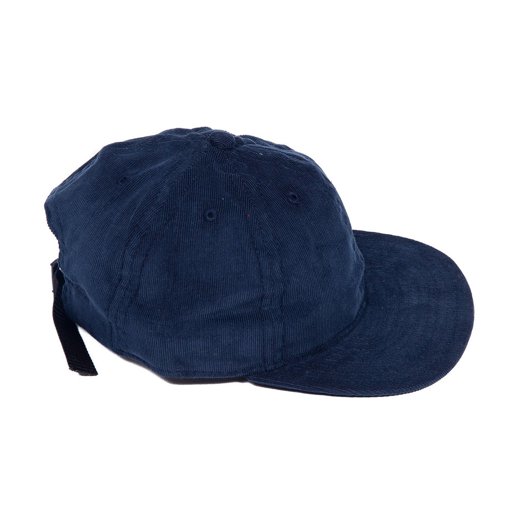 Blue Corduroy Ball Cap