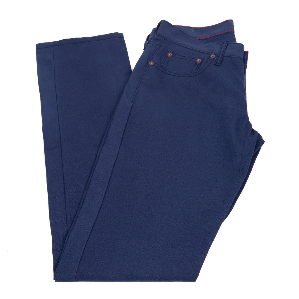 Navy Camp Pants