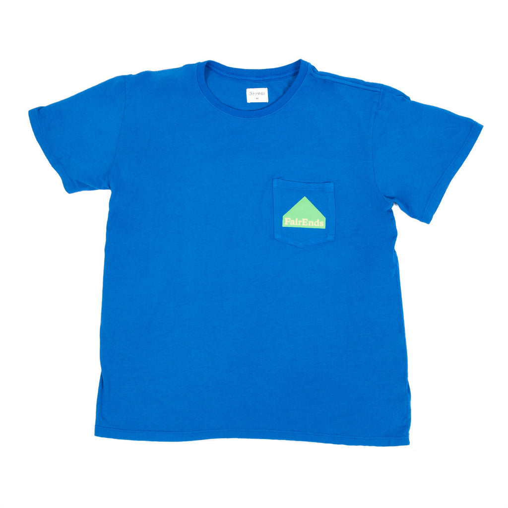 Blue Pocket Logo Shirt