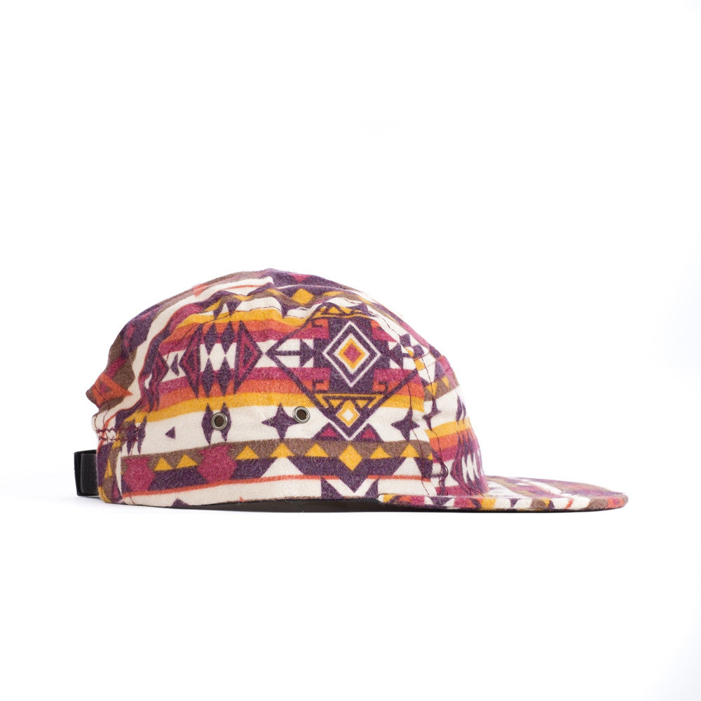 Diamond Bar Red Camp Cap