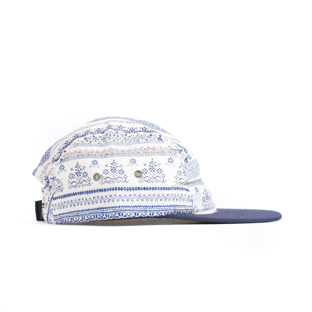 Blue Shaker Camp Cap