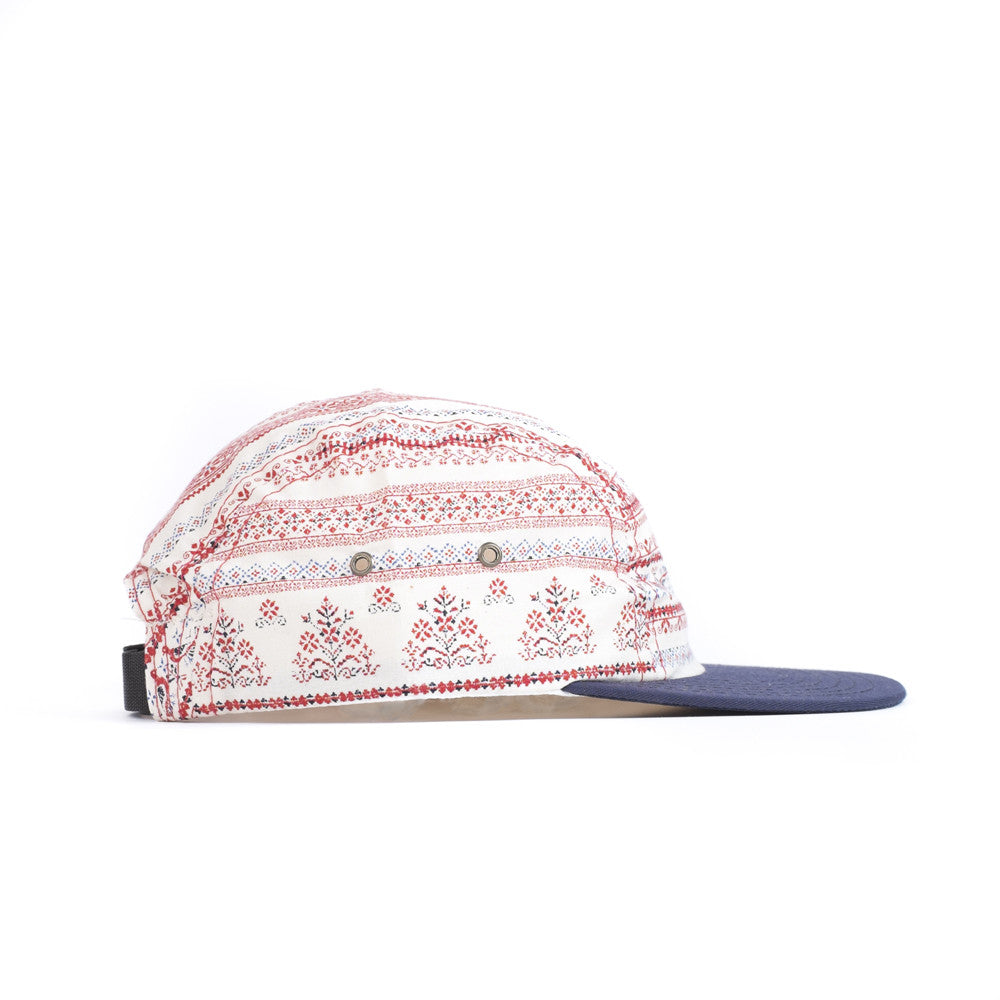 Red Shaker Camp Cap