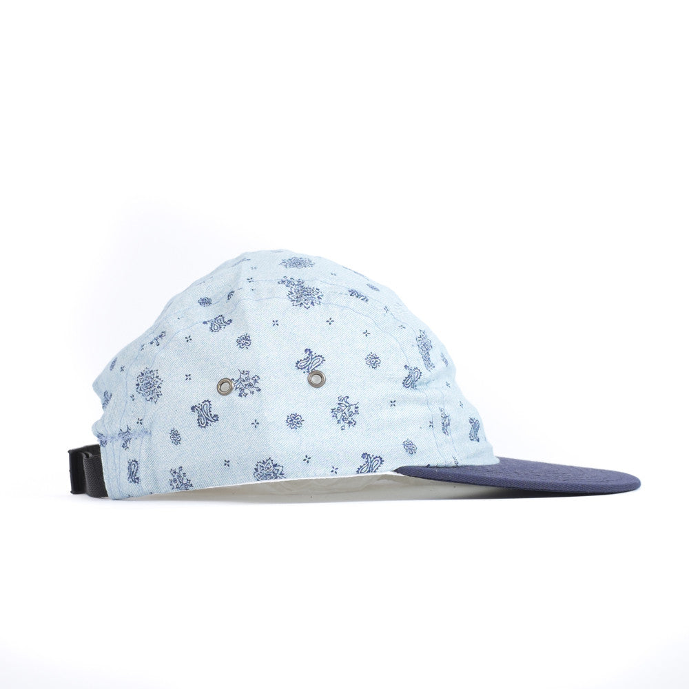 Paisley Night Camp Cap