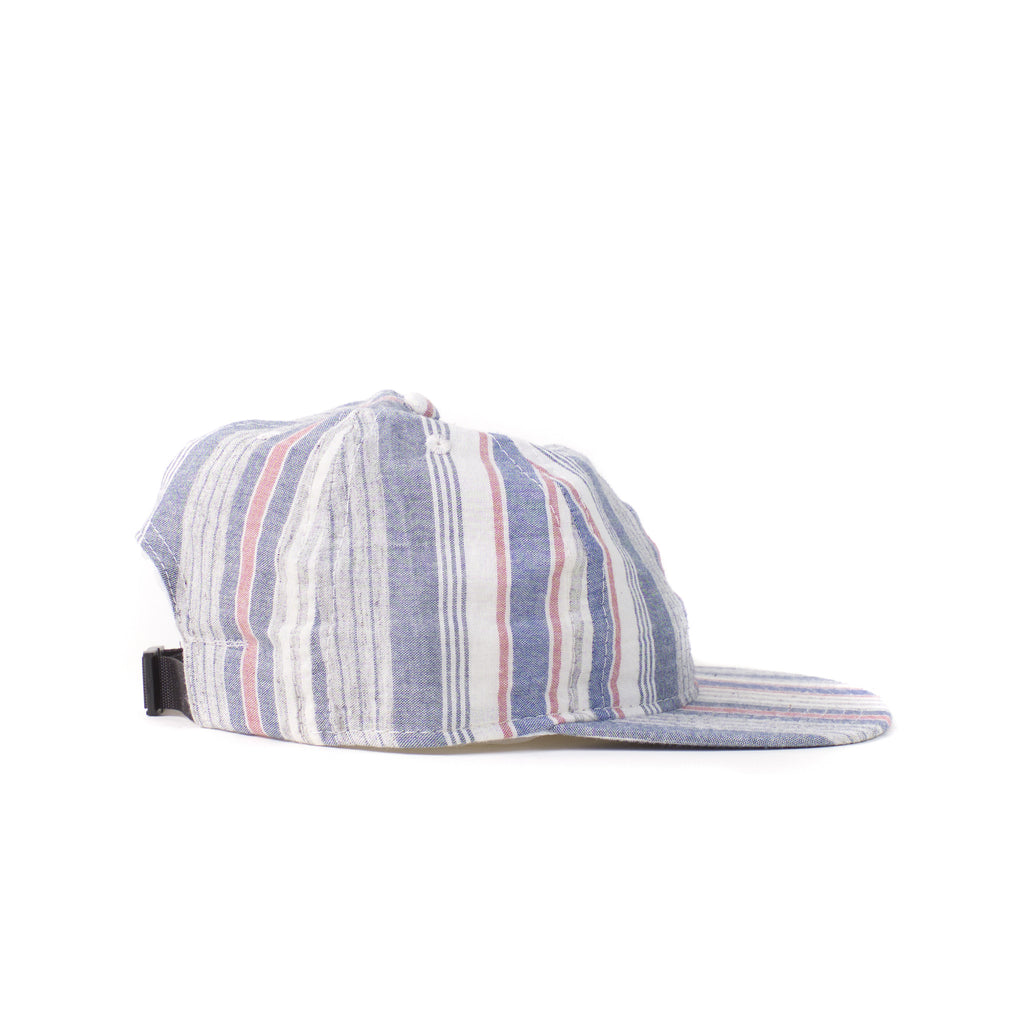 Blue Multi Stripe Ball Cap