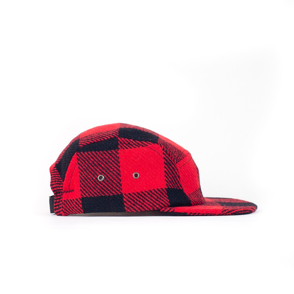 Buffalo Check Plaid Camp Cap