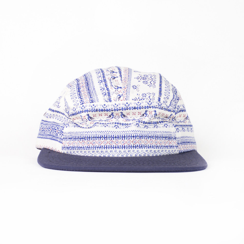 Blue Shaker Kids Camp Cap