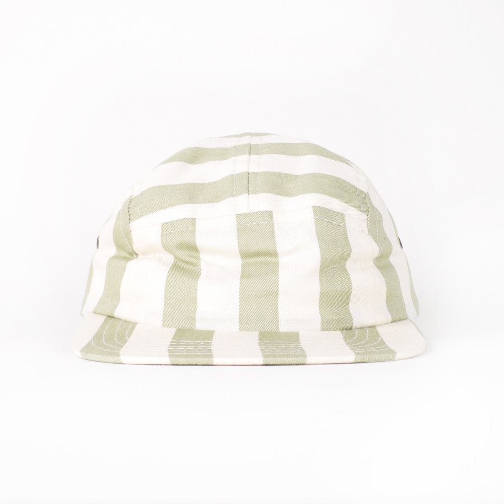 Seaweed Beach Stripe Kids Camp Cap