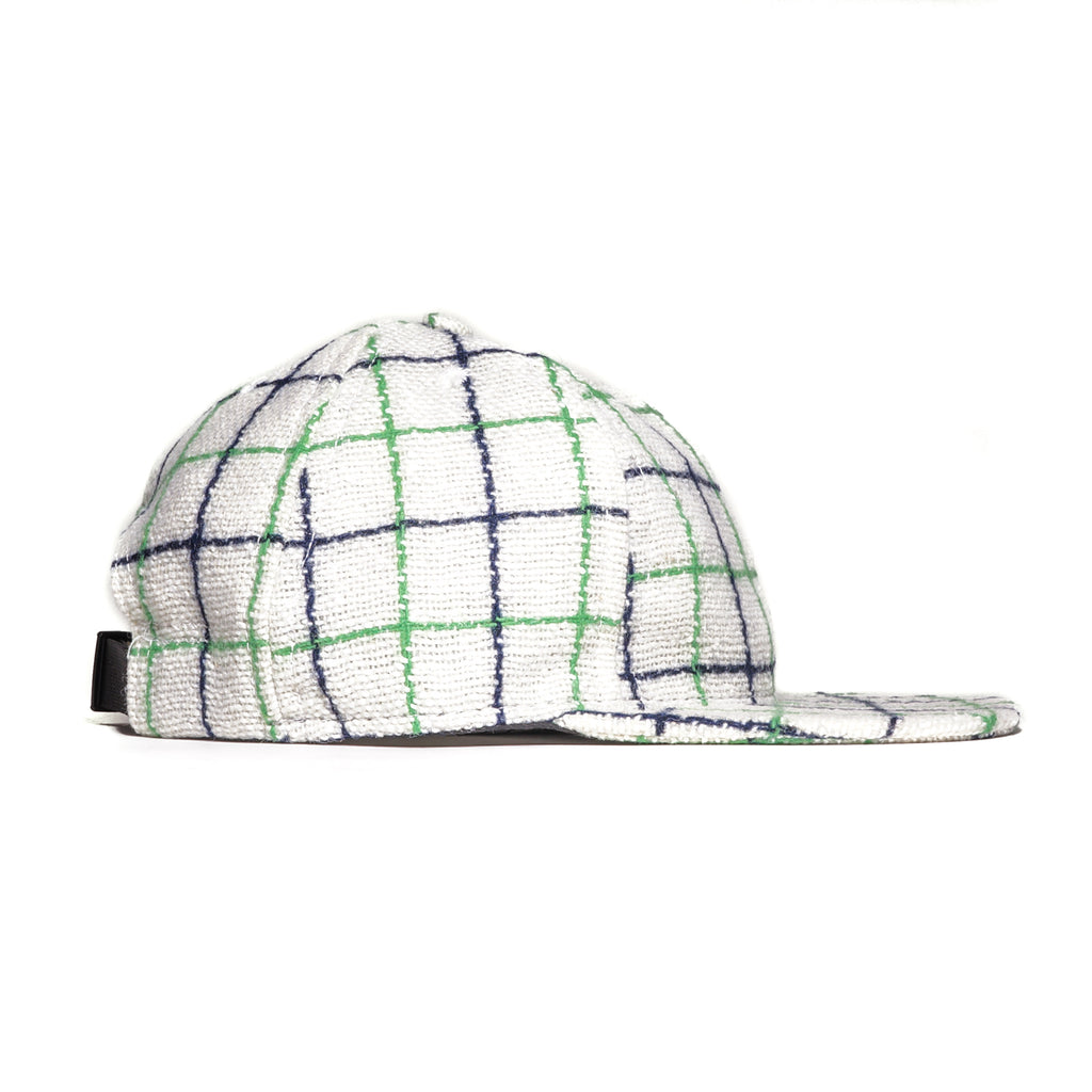 Windowpane Plaid Ball Cap