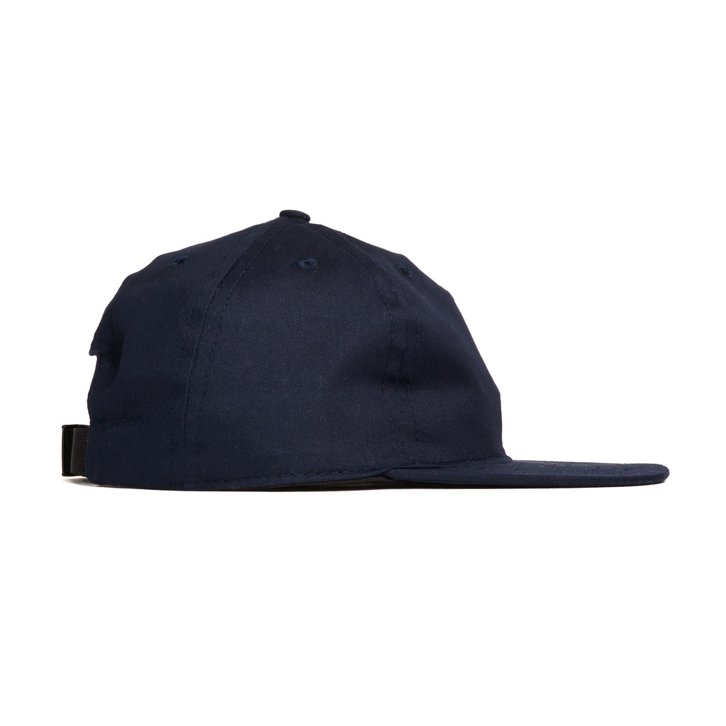 Navy Cotton Twill Ball Cap