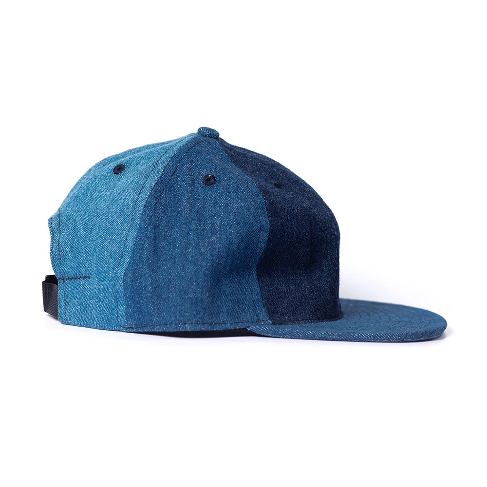 Pinwheel Denim Ball Cap