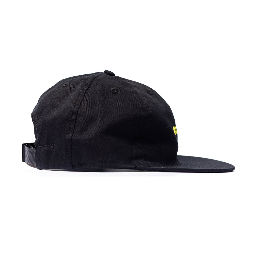Black Twill Logo Ball Cap