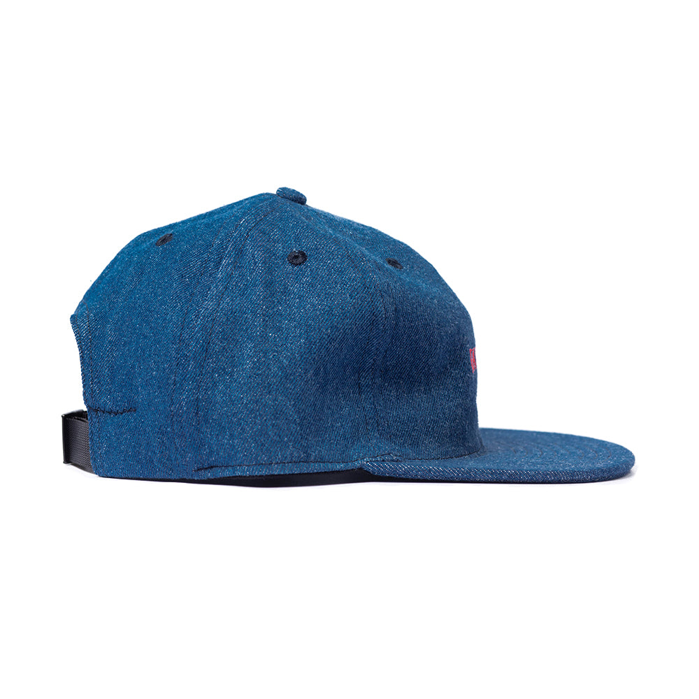 Medium Denim Logo Ball Cap