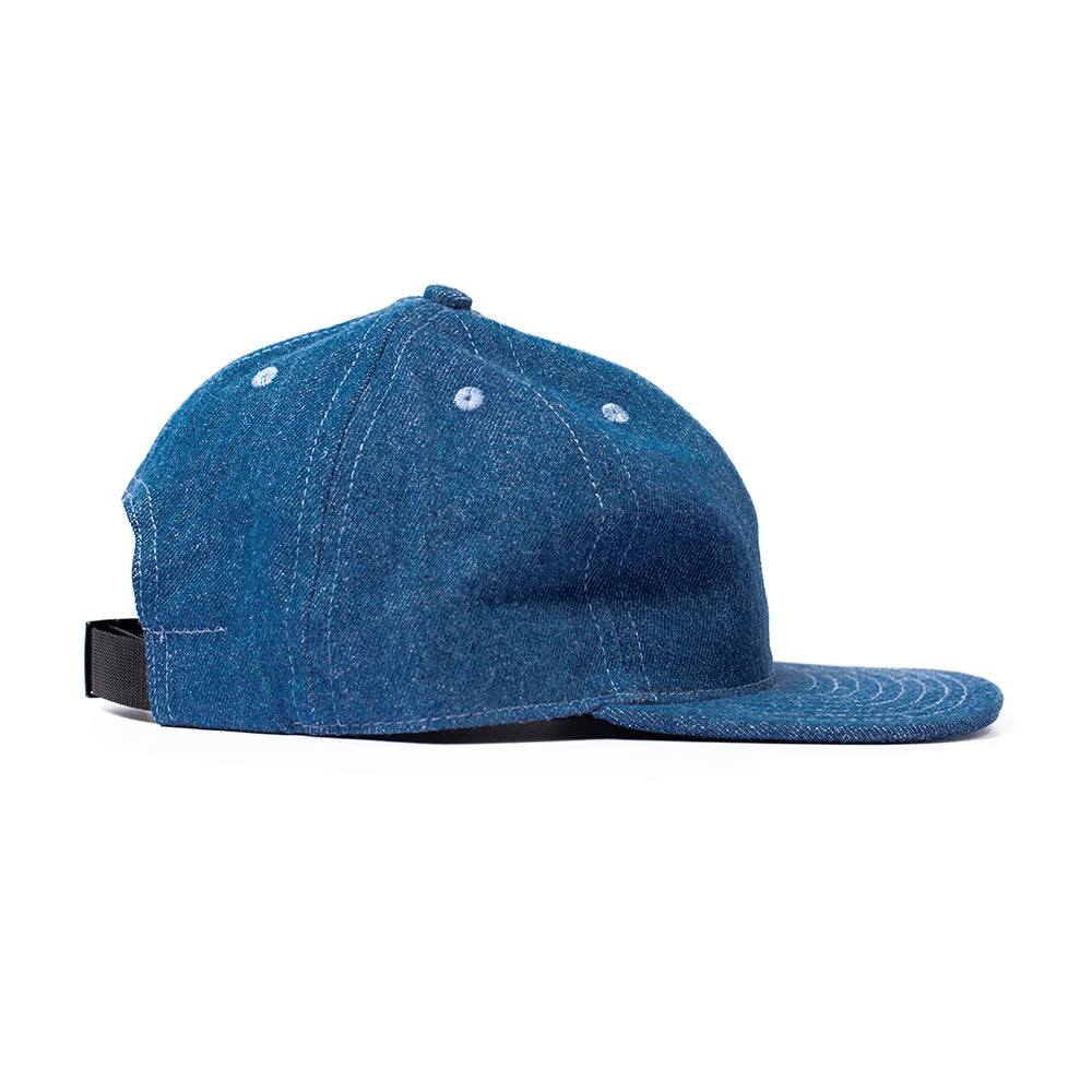 Medium Denim Ball Cap